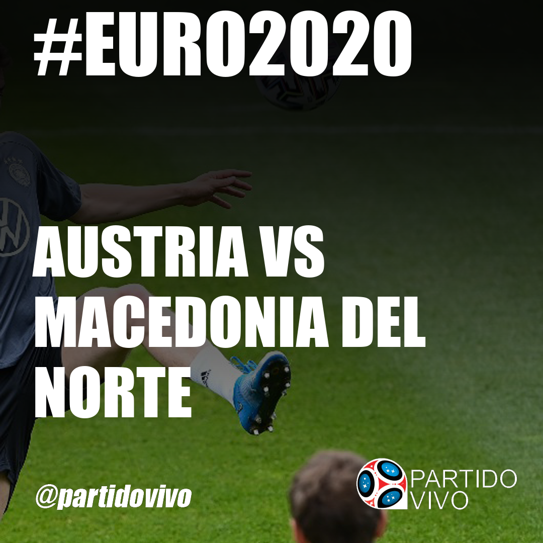 Austria vs Macedonia del Norte