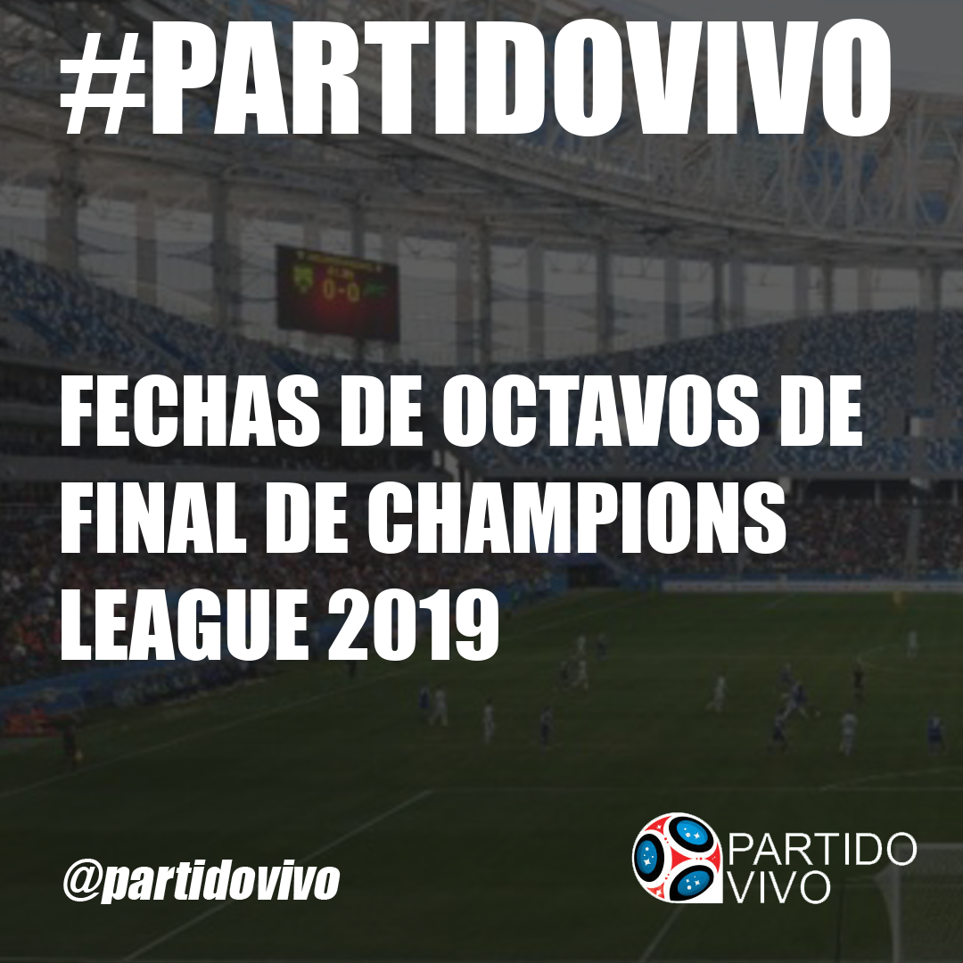champions 2019 partidos