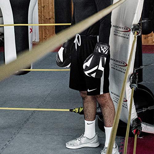 Brace Master MMA Gloves Guantes UFC Guantes de Boxeo para Hombres Mujeres Cuero Más Acolchado Saco de Boxeo sin Dedos…