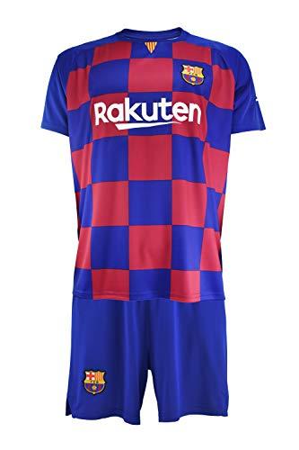 Conjunto Camiseta y pantalón 1ª equipación FC. Barcelona 2019-20 - Replica Oficial con Licencia - Dorsal Messi - Niño…