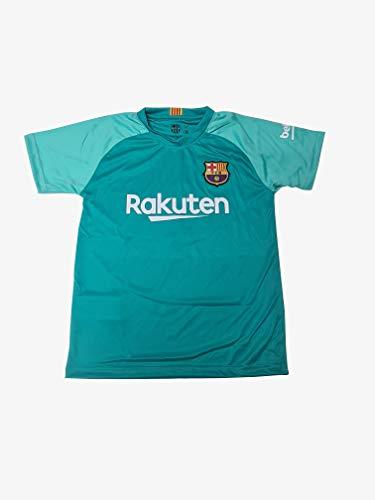 FCB Conjunto Camiseta y Pantalón Primera Equipación Infantil TER Stegen del FC Barcelona Producto Oficial Licenciado…