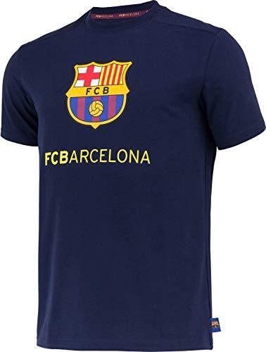 Fc Barcelone Camiseta de algodón Barça - Colección Oficial Taille Adulte