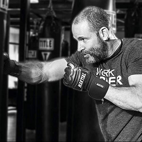 Guantes MMA Profesionales de Martial - Calidad Profesional - Fabricación según elevados estándares - Boxeo…