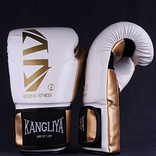 Guantes de boxeo para Muay Thai Profesional de Boxeo Guantes de Entrenamiento para Sparring Kickboxing Combate Bolsa de…