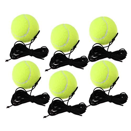Harilla 6X Jugador de Tenis RE Bound Drill Pelota de Ejercicio en Tenis de Cuerda ELÁSTICA