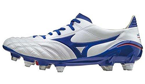 Mizuno–Zapatillas de Fútbol Blanco Blue/Red/White