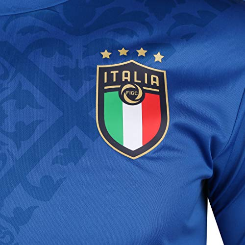PUMA FIGC Stadium Home Jersey Camiseta, Hombre, Team Power Blue Team Gold, XL
