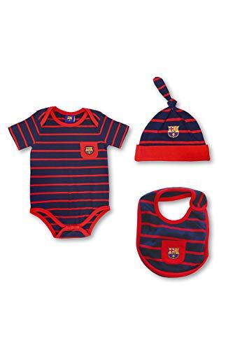 Pack Recién Nacido Oficial FC Barcelona Bebé Verano