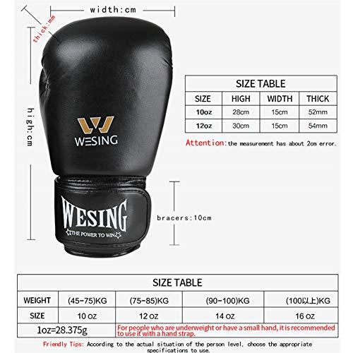 Profession Boxing Gloves Para Hombres Y Mujeres Adultos, Guantes De Boxeo Para Combate Kickboxing Muay Thai Thai Diseño…