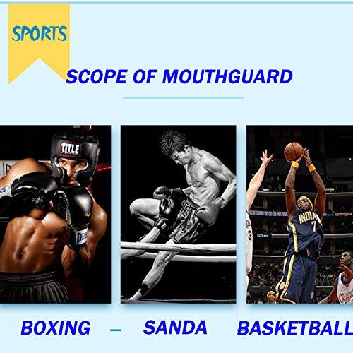 SBZH Protector de Encía Boxeo/MMA/Karate Gum Shield Mouth