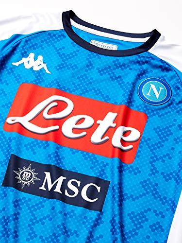 SSC NAPOLI Maglia Replica Home 2019/2020 - Camiseta De Juego Hombre