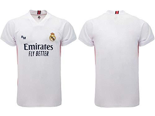 Ufficiale Camiseta de fútbol RM 2020/2021 – Blanca – Tallas de niño y adulto