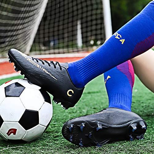 Zapatos de Fútbol para Hombre Spike Zapatillas de Fútbol Profesionales Atletismo Training Botas de Fútbol