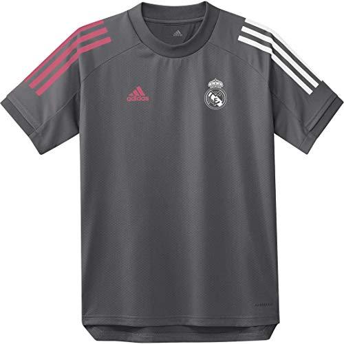 adidas Real Madrid Temporada 2020/21 Camiseta Entrenamiento Oficial Camiseta Entrenamiento Oficial Niños