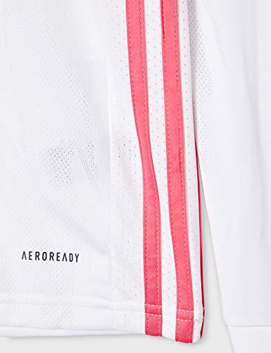 adidas Real Madrid Temporada 2020/21 Camiseta Manga Larga Segunda Equipación Oficial Camiseta Manga Larga Segunda…