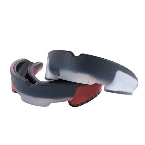 zrshygs - Protector bucal para adultos, protector de dientes, protector de goma para baloncesto, fútbol, MMA y Muay Thai