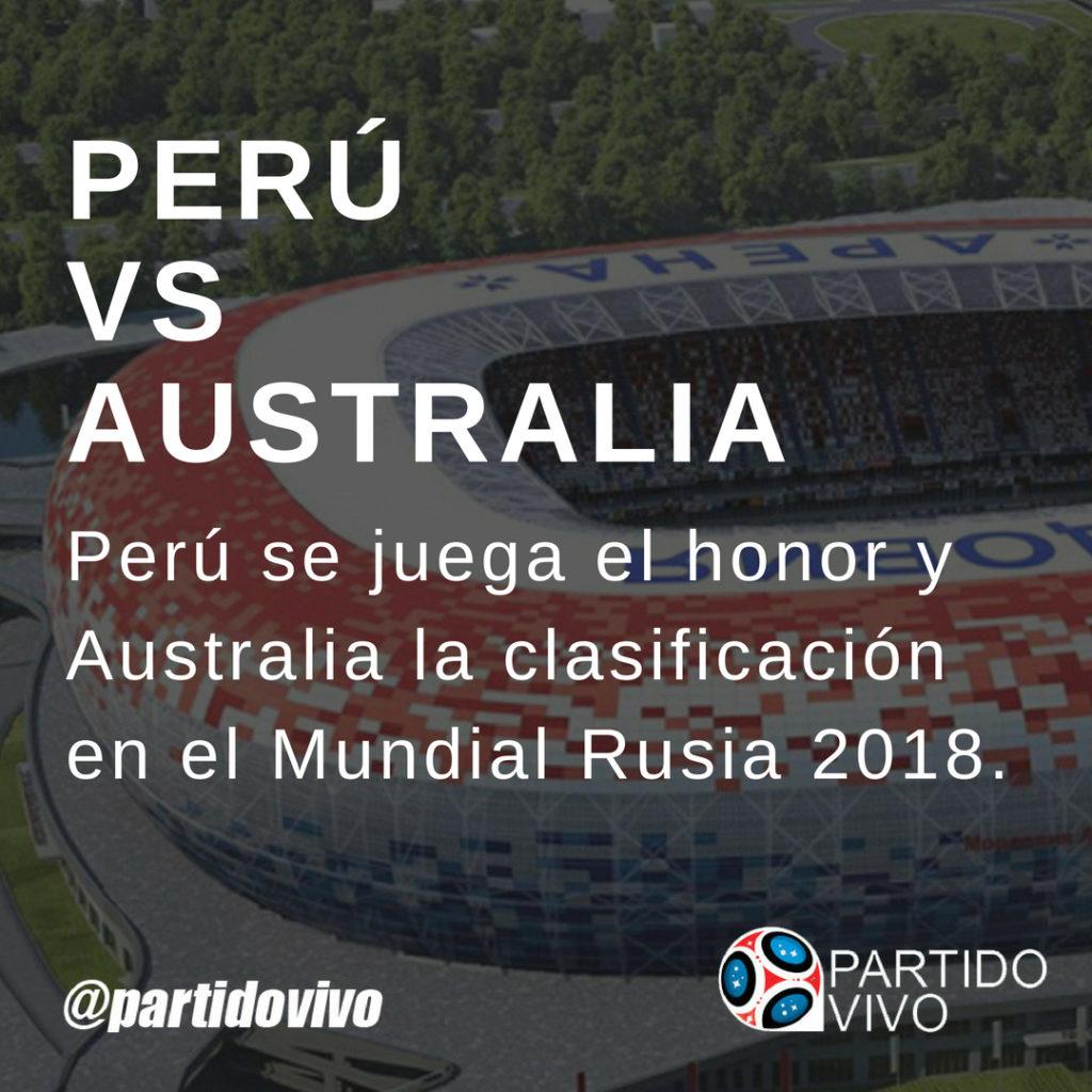 Perú vs Australia