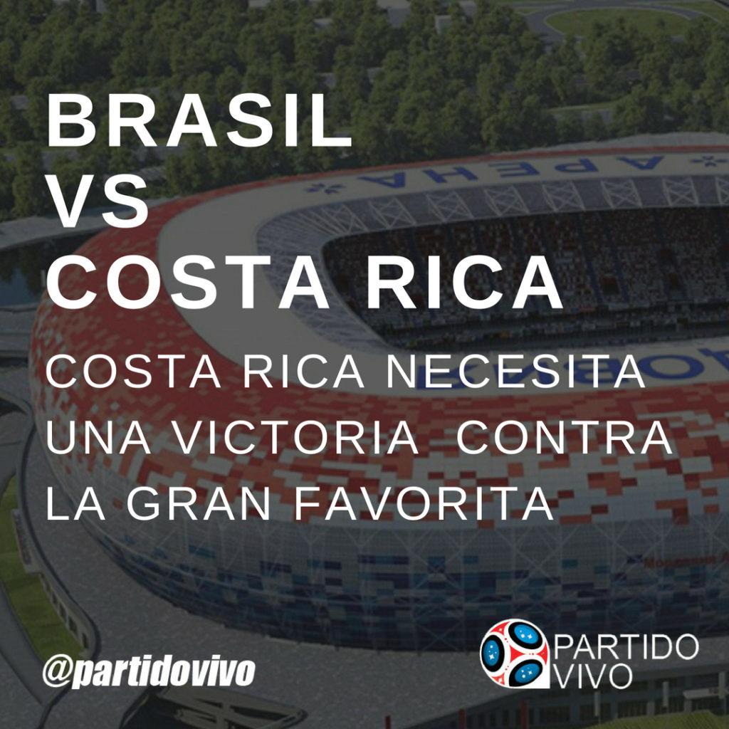 Costa Rica vs Brasil