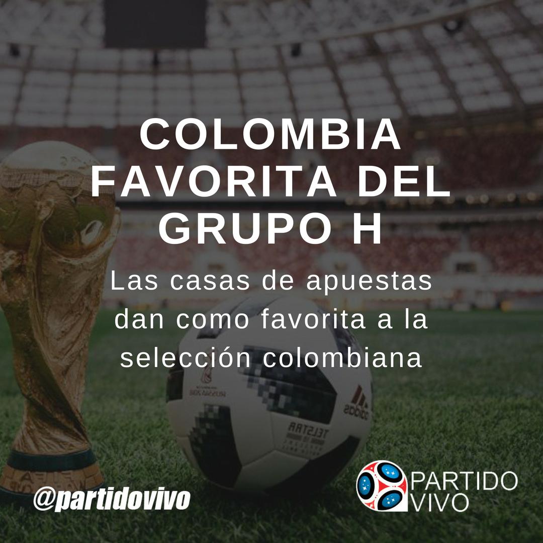 Colombia Favorita del Grupo H