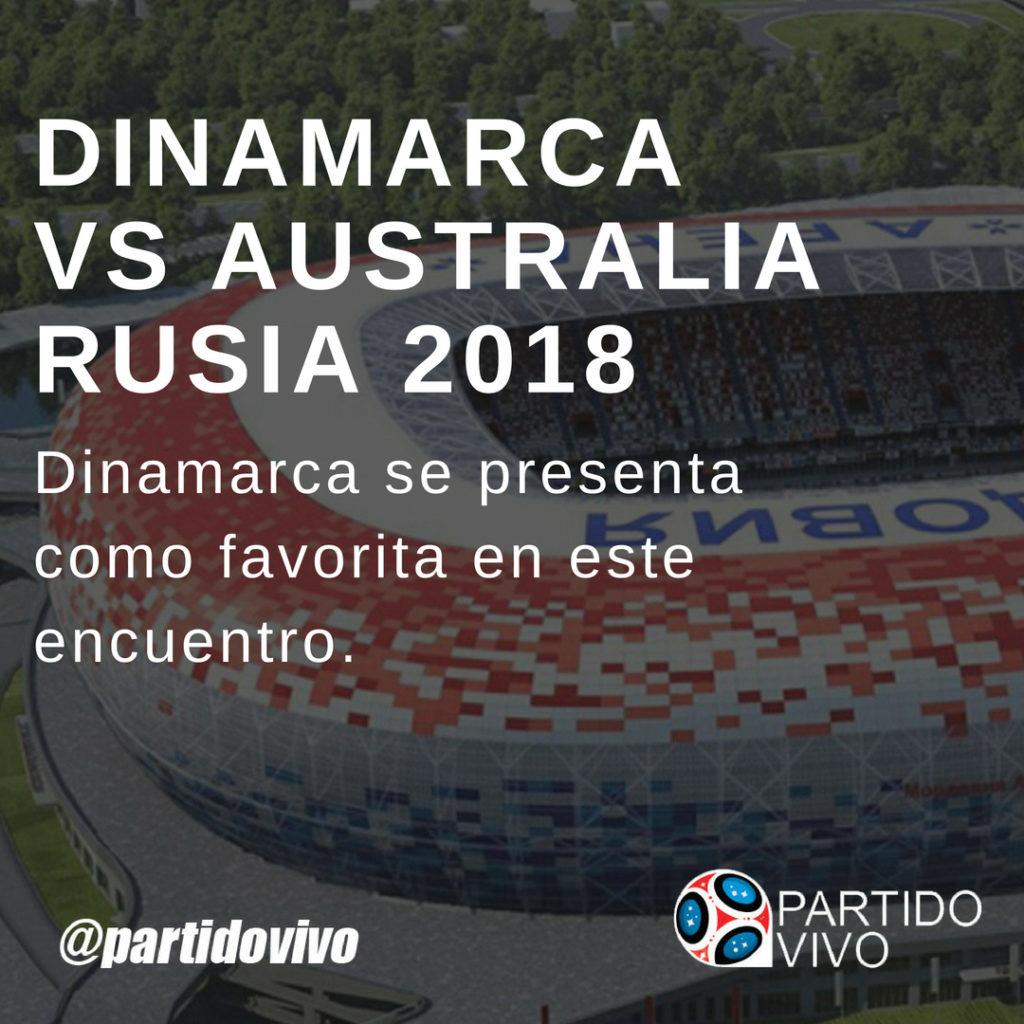 DINAMARCA VS AUSTRALIA