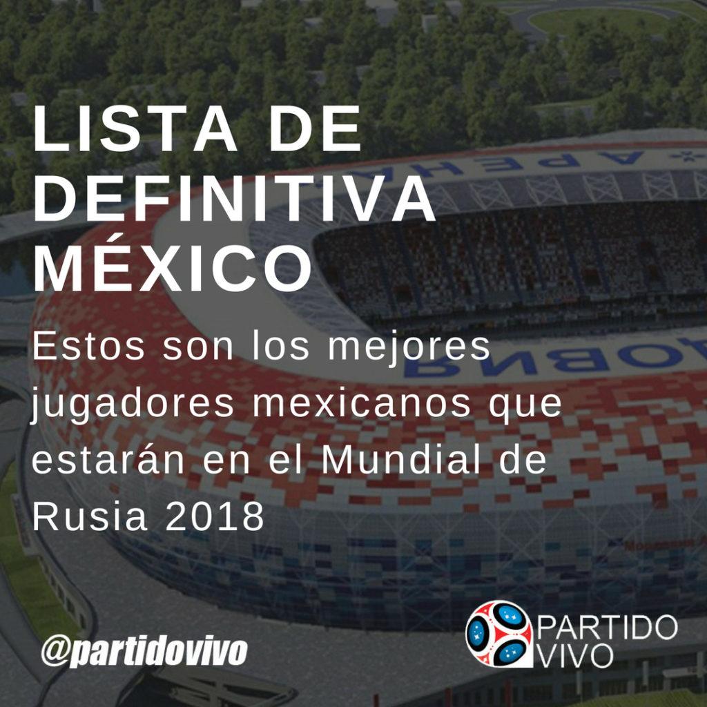 Lista Definitiva de México
