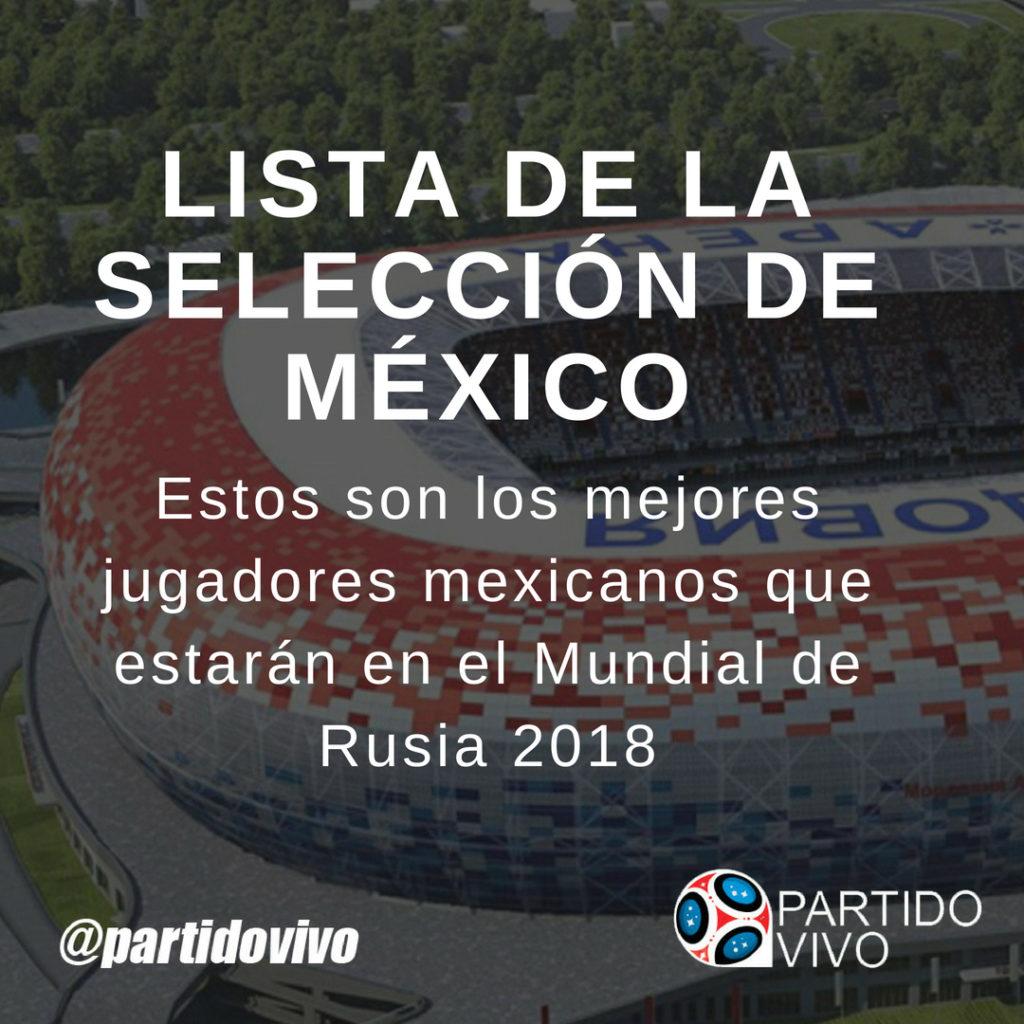 Lista de los Jugadores Mexicanos