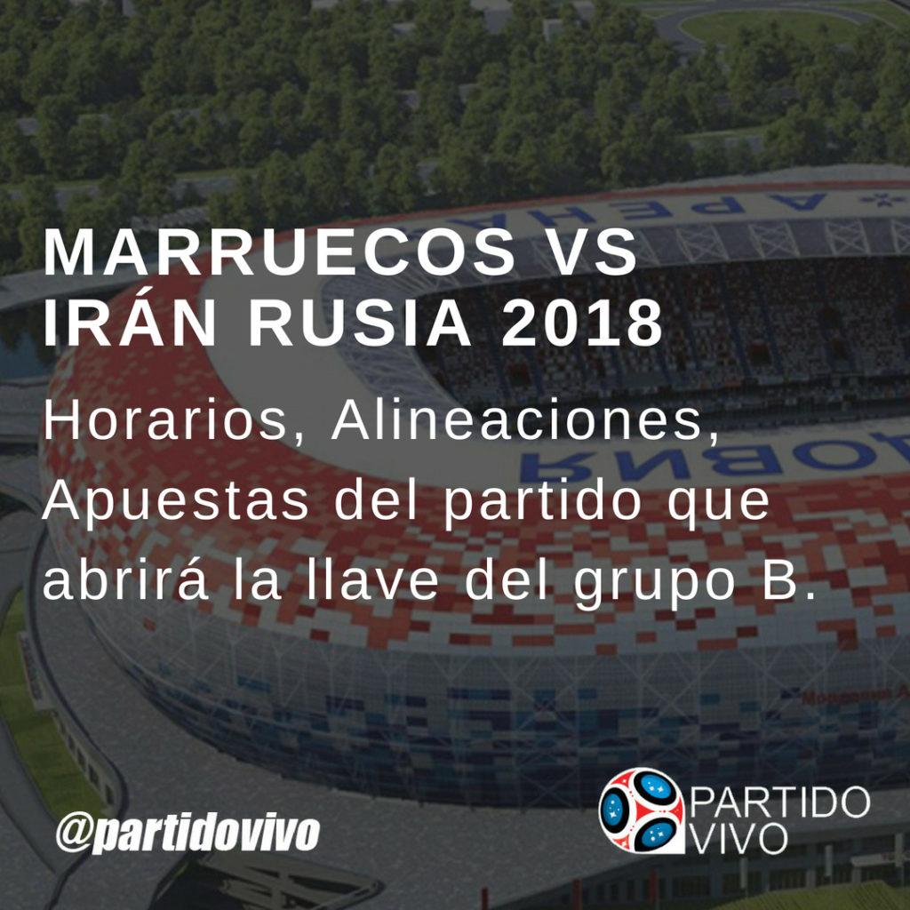 Marruecos vs Irán