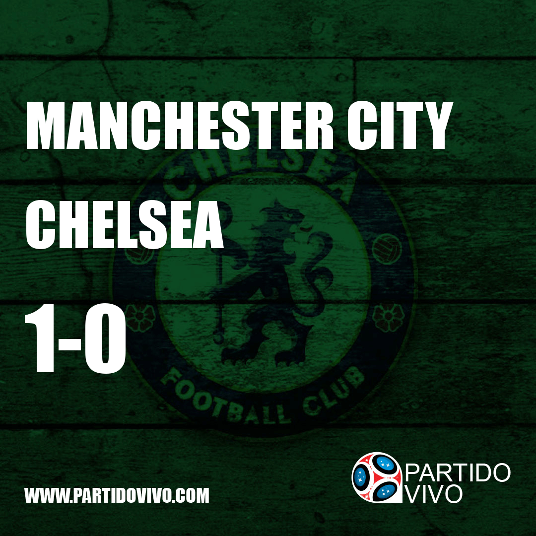 FINAL RESULT: FT - Manchester City 1-0 Chelsea (ESPN) #ManchesterCity