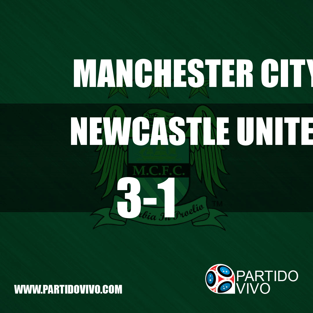 FINAL RESULT: FT - Manchester City 3-1 Newcastle United (ESPN) #ManchesterCity