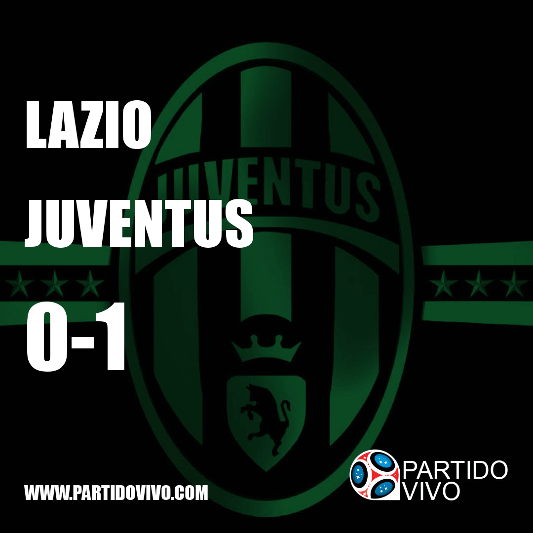 RESULTADO FINAL: FT - Lazio 0-1 Juventus (ESPN) #FinoAllaFine