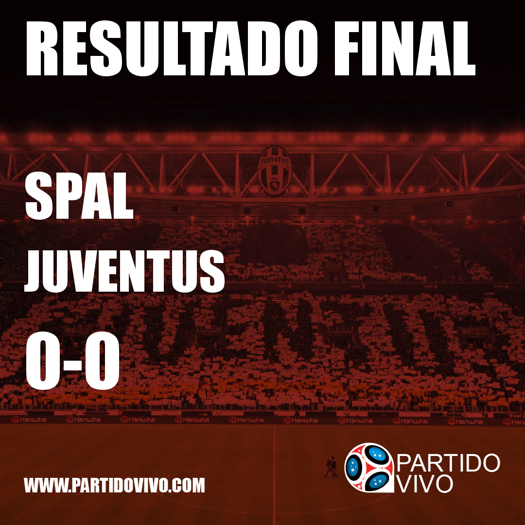 RESULTADO FINAL: FT - SPAL 0-0 Juventus (ESPN) #FinoAllaFine