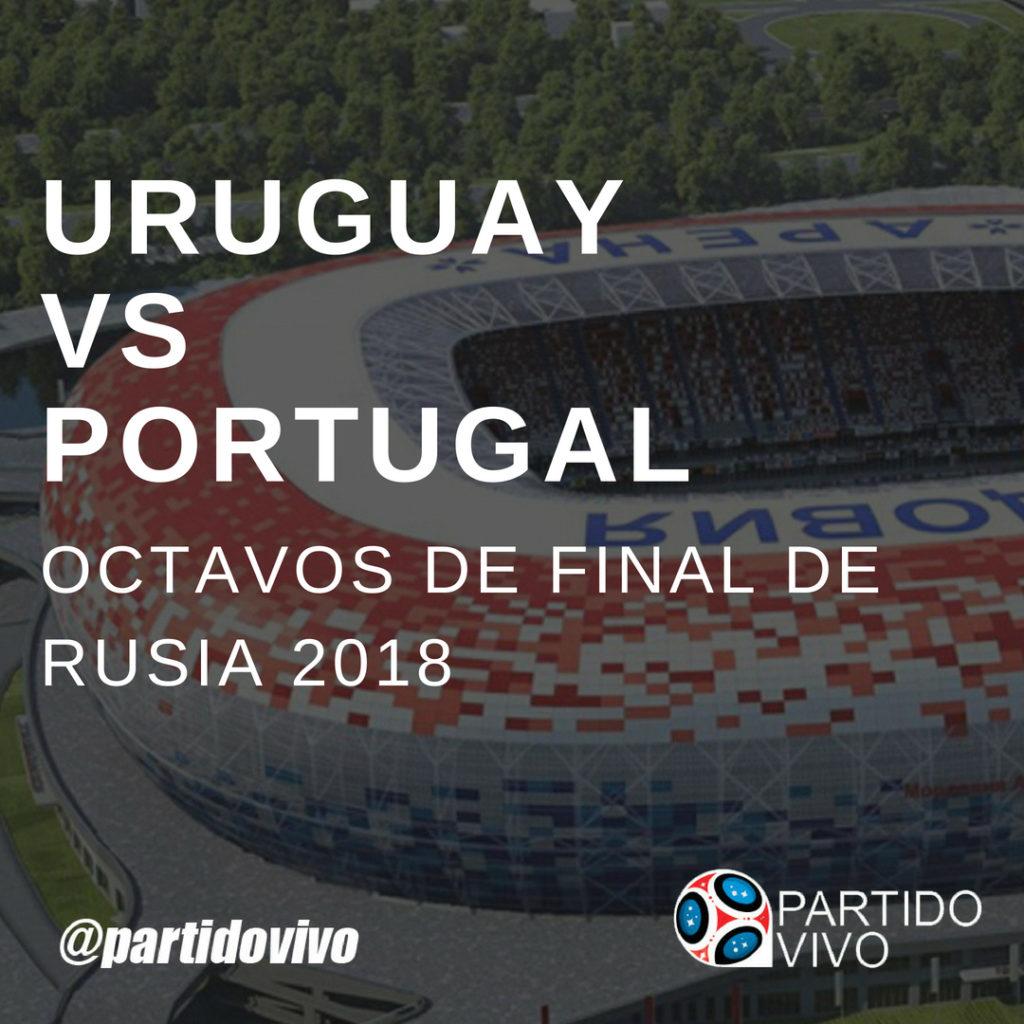 Octavos Uruguay vs Portugal